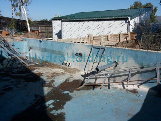 Гидроизоляция бассейнов Красноярск