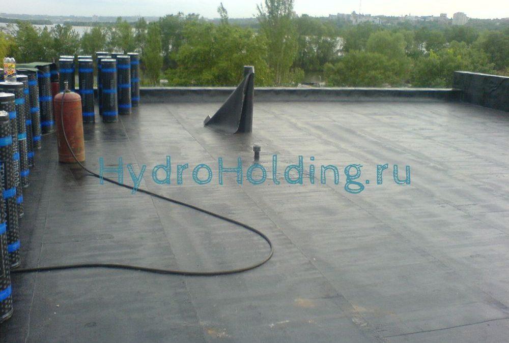 Гидроизоляция крыши Красноярск